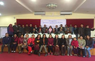 LAHURNIP and NHRC conduct training on Business and Human Rights