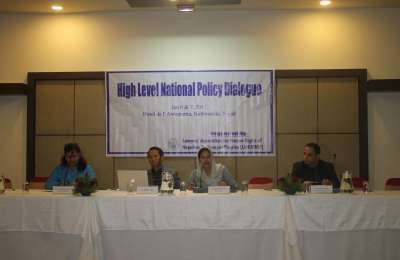 High Level Policy Dialogue, Fourth Session