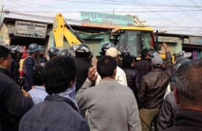 Illegal and Inhumane act in the name of Road Expansion