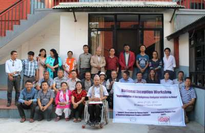 Workshop on 'Implementation of Indigenous Navigator Initiative in Nepal'