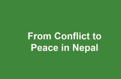 From Conflict to Peace in Nepal Peace Agreements 2055-10